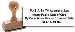 Ohio Attorney/Notary Combo<br>Self-Inking (M2)