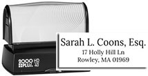 ADD-HD40 - 3-Line Address Stamp HD40