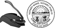 AB PE-C - Ohio Notary Custom Seal