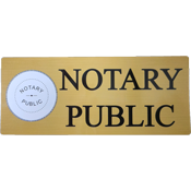 DECAL-NP - Notary Public Decal